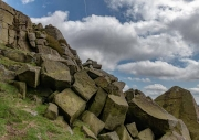 Stanage Edge, The Peak District, Derbyshire, England