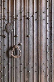 The door out of Tissington Hall.