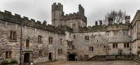 Haddon Hall, Bakewell, Peak District National Park, England