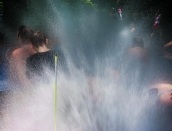 Fire Hydrant Spray People