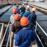 Wastewater Treatment Plant, Wilmington, DE, March 13, 2018