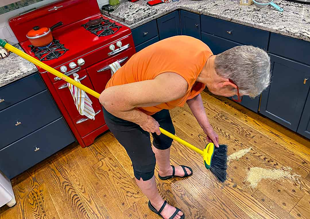 Spilled Rice, Yellow Broom