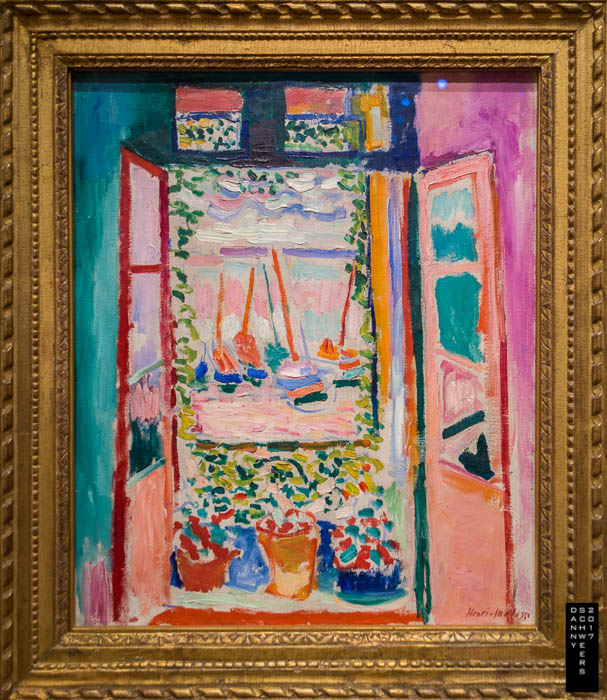 """Open Window, Collioure"" by Henri Matisse, 1905."