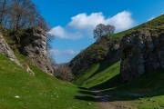 Cave Dale and Mam Tor, Castleton, Derbyshire, England, April 20, 2018