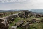 Curbar Edge, Derbyshire, England, April, 2018 by Danny N. Schweers