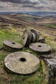Stanage Edge, The Peak District, Derbyshire, England