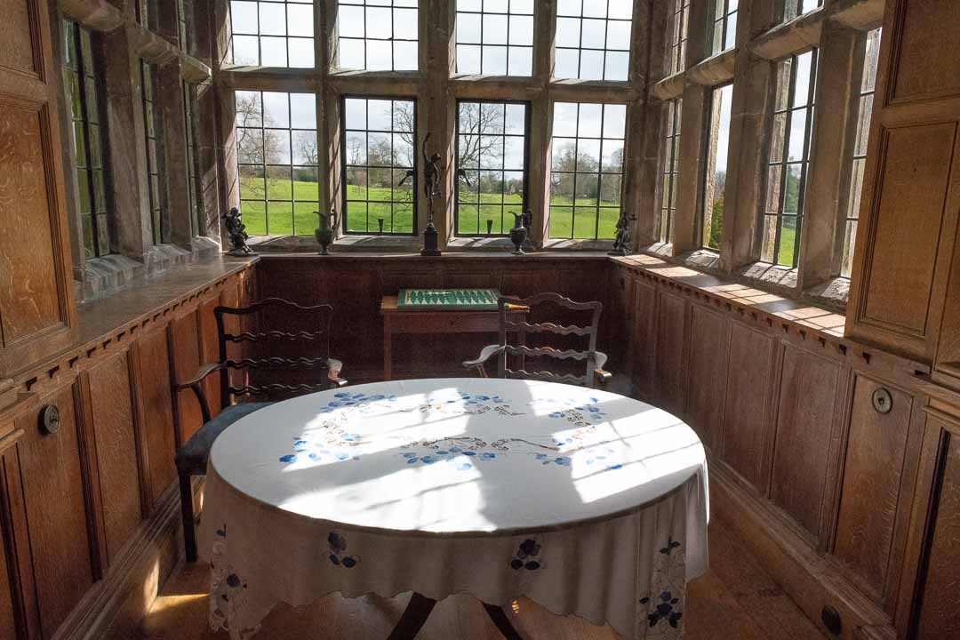 Tissington Hall interior