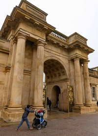 Chatsworth House, Debryshire, England