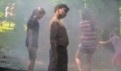 Fire hydrant spray, ACRA July 4 Games 2019, Arden, Delaware