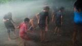 Fire Hydrant Spray People